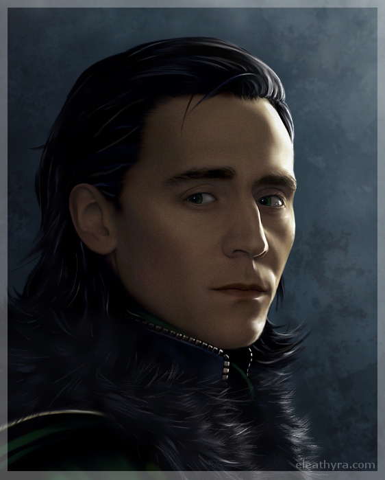 Just another Loki portrait... by eleathyra