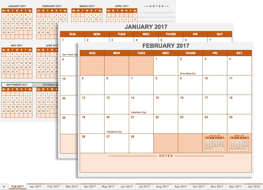 20 Free Calendar Templates For Work Amp Personal Planning