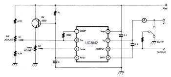 Uc3842 circuit_open loop test | Electronic in 2019 | Circuit, Diy