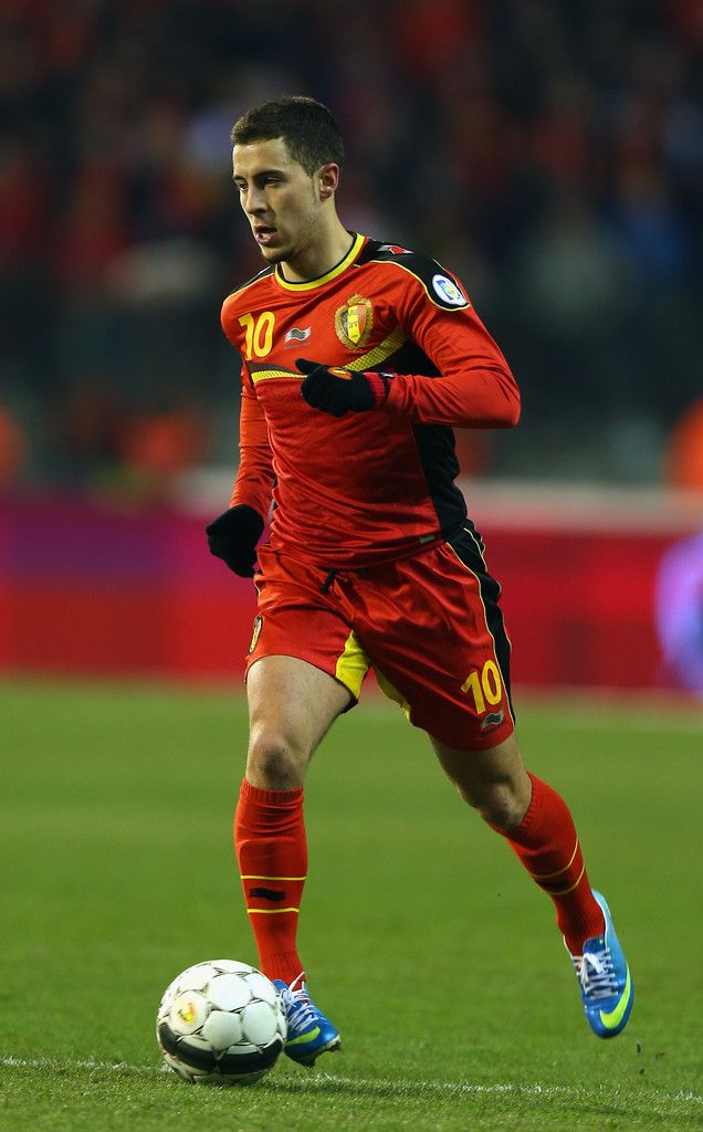 The slick Eden Hazard is one of the stars of Belgium's Red Devils