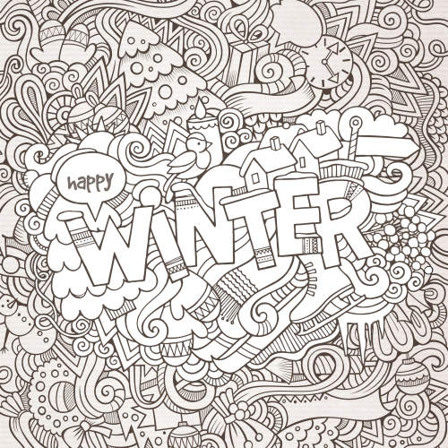 Black And White Doodle 5 Black White Doodle Coloring