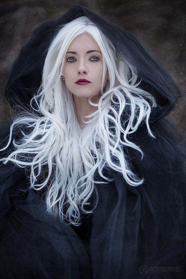 Anna Contessa Richard Pryde Photography White Haired