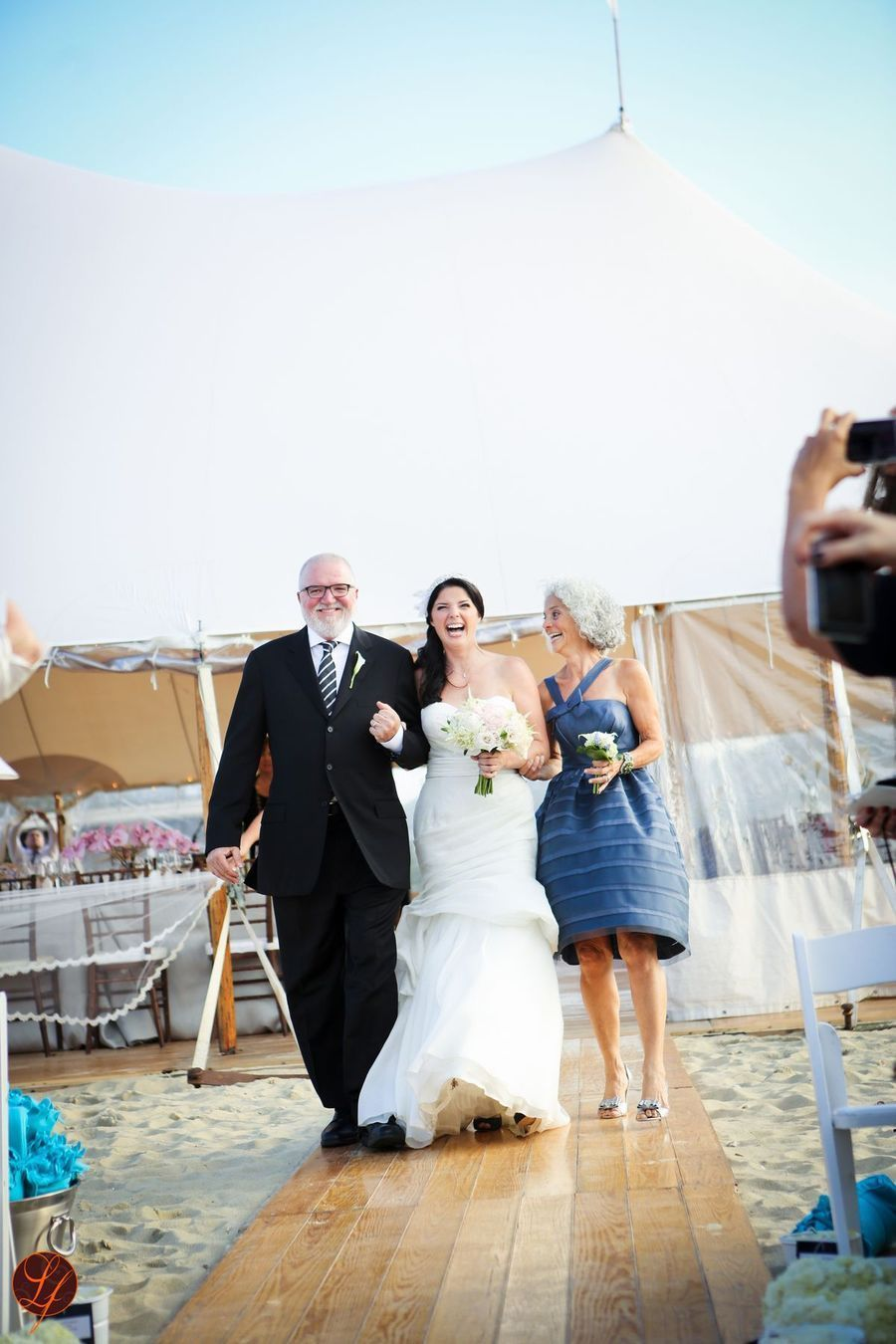 Mother dresses for a beach wedding  Nantucket Wedding from Soiree Floral  LifeFusion Studios  wedding