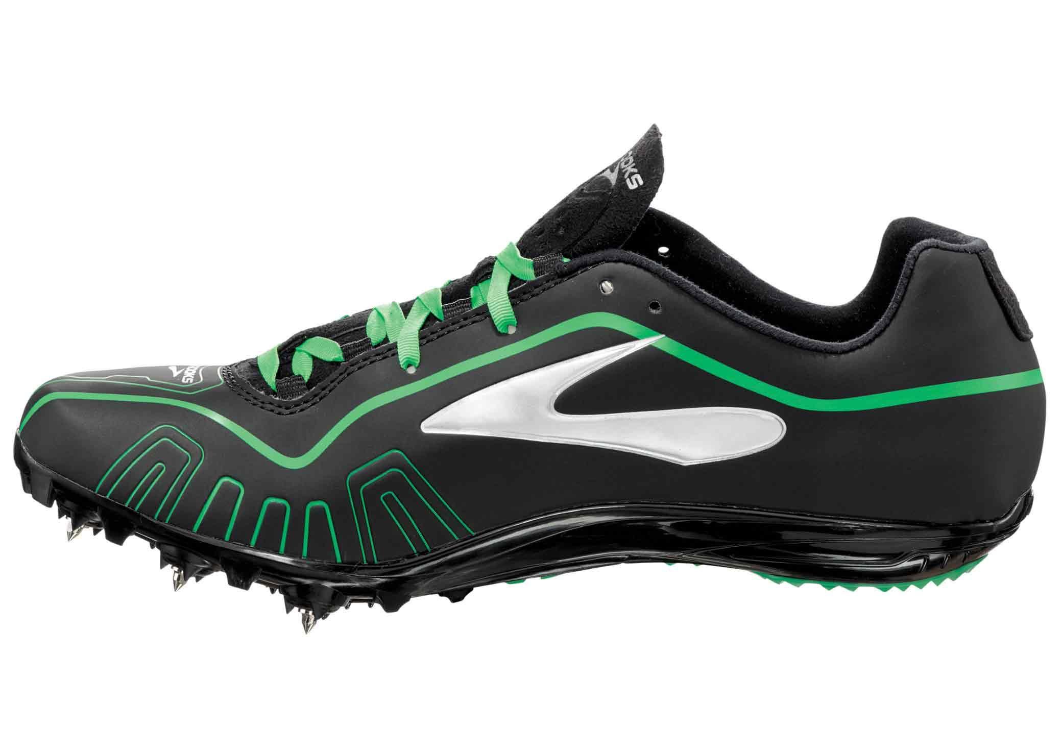 brooks running spikes