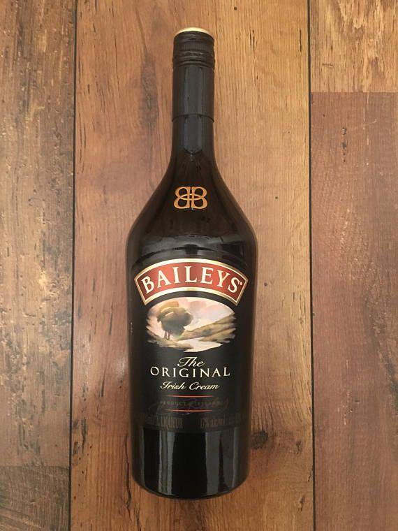 Empty Liquor Bottle Bottle Crafts Empty Baileys Bottle Bottle