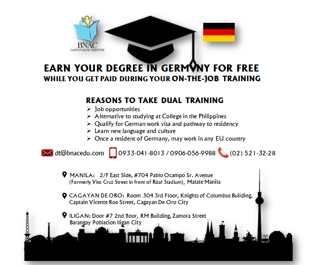 Apply for our Dual Training Programs where undergraduate, unlicensed