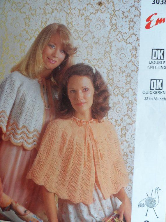 Pdf File Vintage Ladies Bed Jackets Emu Knitting Pattern 3038 On