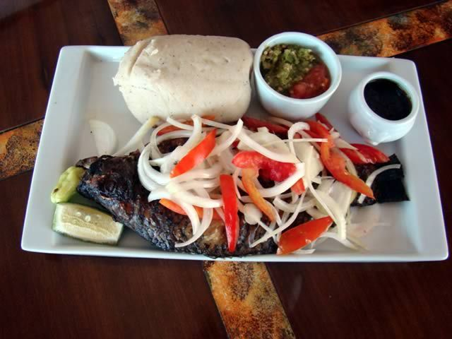The buka restaurant fine african restaurant ghanaian for African cuisine london