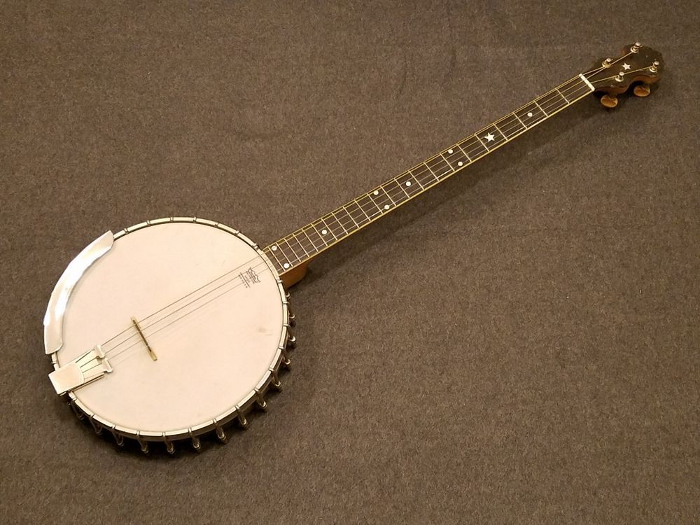 Vega Plectrum Banjo #2 Whyte Laydie OHSC Early 30's #85507