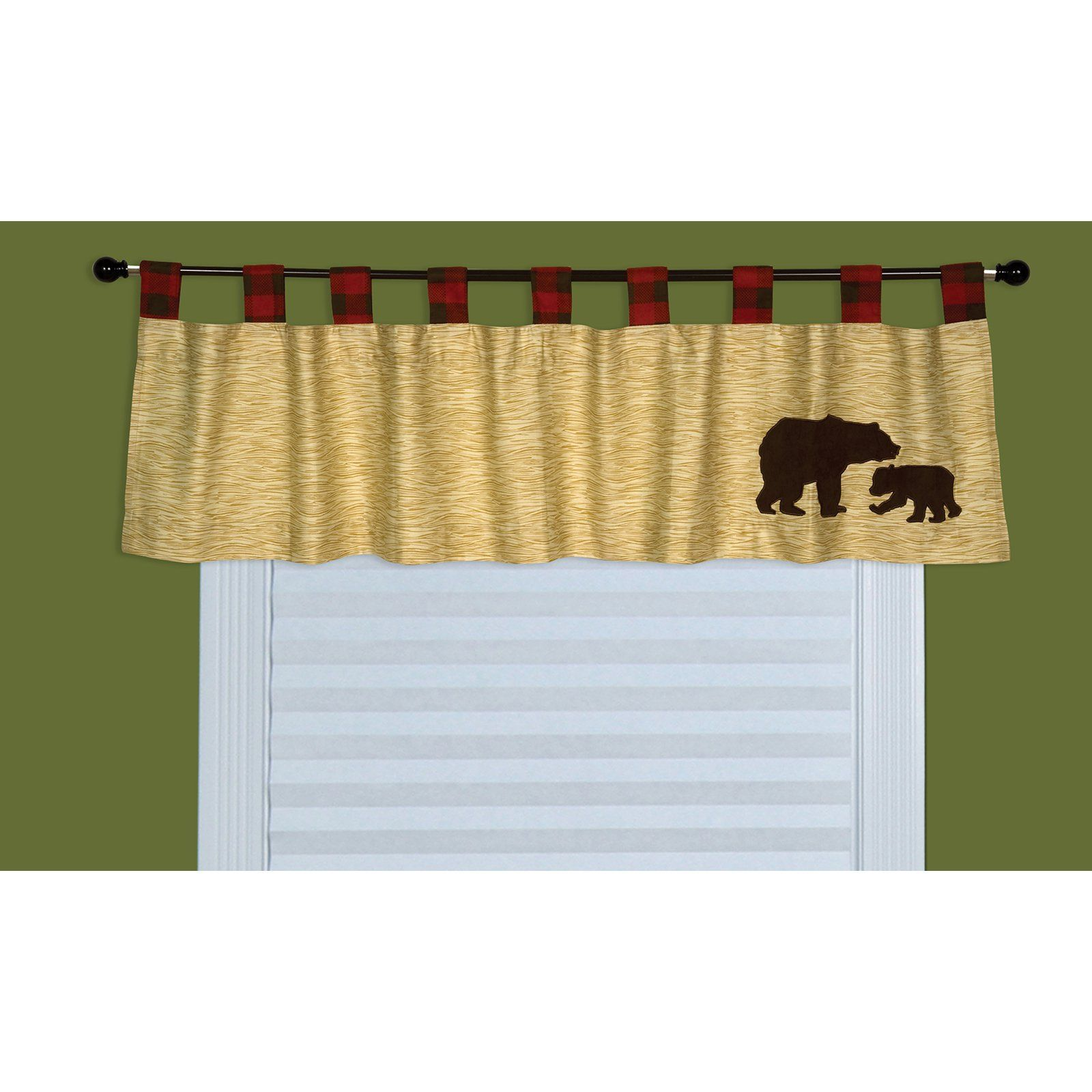 Trend Lab Northwoods Window Valance 110242 Nursery
