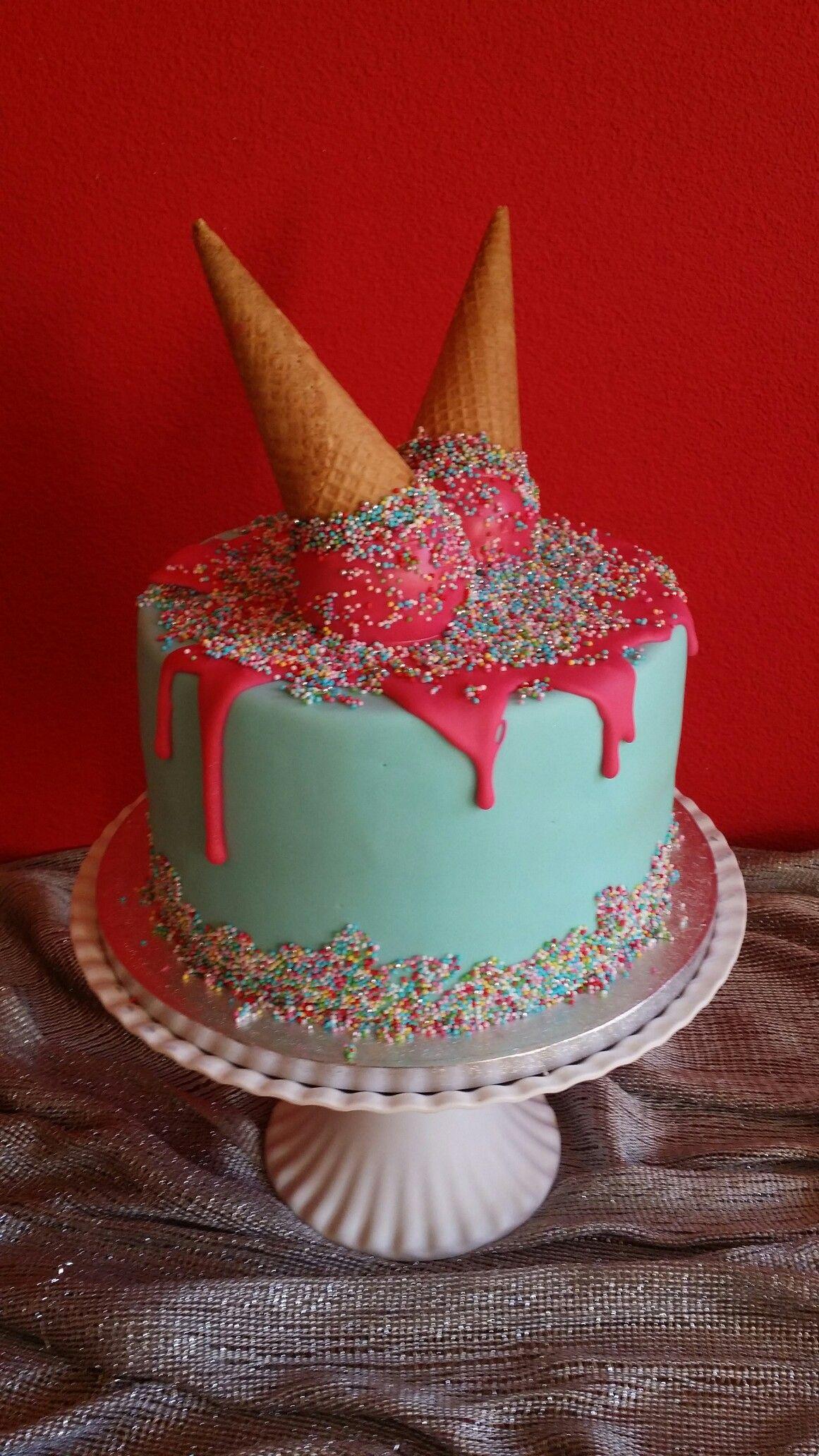 Fabulous Schattige vrolijke kinder taart Gemaakt door Zoet (Hetti W… | Kids  AW-11