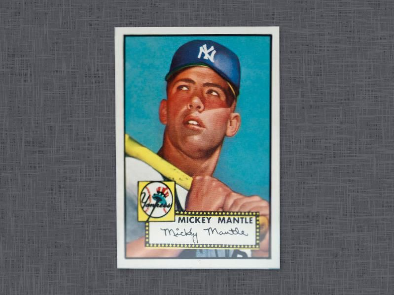 Most Expensive Baseball Cards Ever Sold Baseball Cards Baseball Mickey Mantle