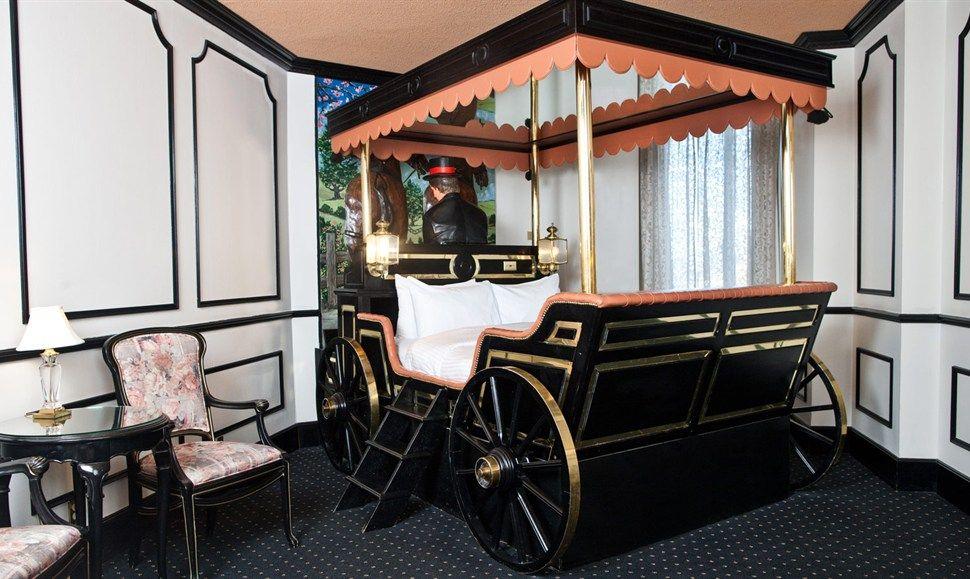 Victorian Coach Theme Fantasyland Hotel West Edmonton Mall Alberta Canada
