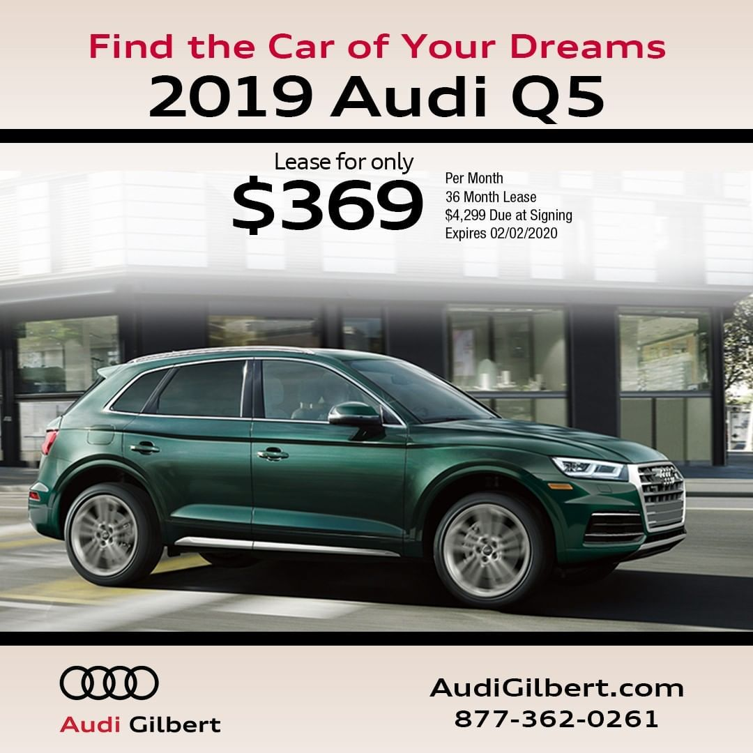 Find the Car of Your Dreams at Audi Gilbert with these fantastic offers! . . . . . .