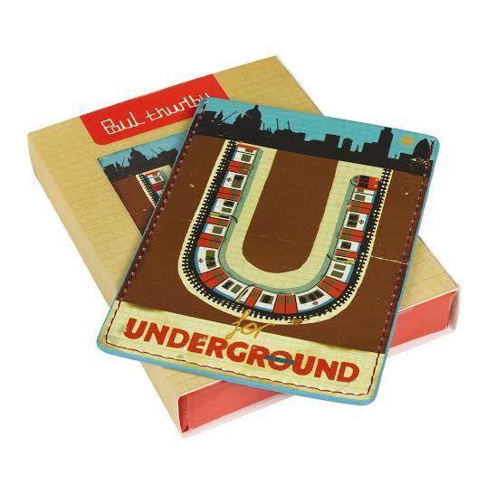 Bolsas, Porta moedas e Cartões : Porta Cartão Underground