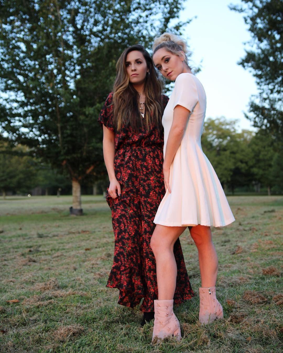 15 Chic Half Up Half Down Wedding Hairstyles For Long Hair: Megan & Liz Image By Matéa Aurelia