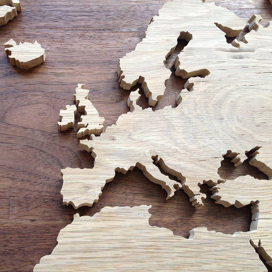 World map europe huis pinterest bespoke world map europe gumiabroncs Gallery