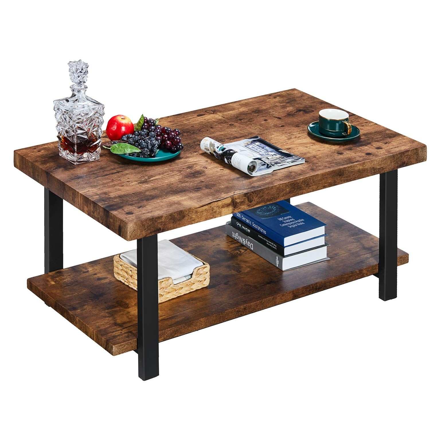 A Product Dimensionsa 18 5 H X 42 1 L X 22 W Item Weight Is 42lbs Top Weight Capacity 220lbs S Coffee Table Wood Coffee Table Rectangle Coffee Table [ 1500 x 1500 Pixel ]