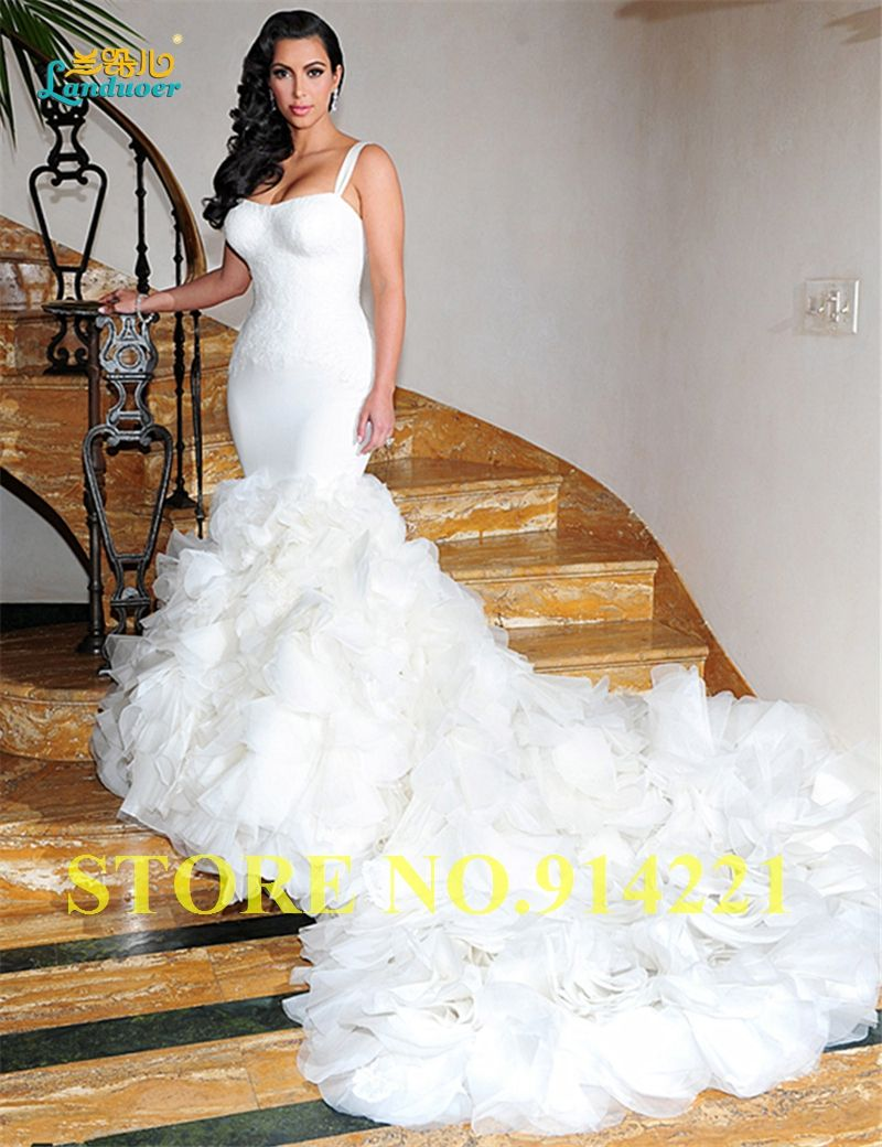 Special offer spaghetti strap vestido de noiva romantic 2017 sale bridal dresses ombrellifo Image collections