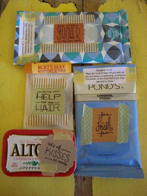 cue the confetti: comfort kit