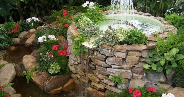 Creating A Peaceful Water Garden Fountain In A Small Space Nice Place To Go  And Relax
