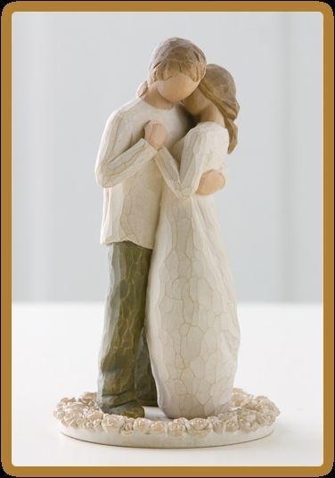 Willow Tree Susan Lordi Das Versprechen Hochzeitstortenfigur 26189