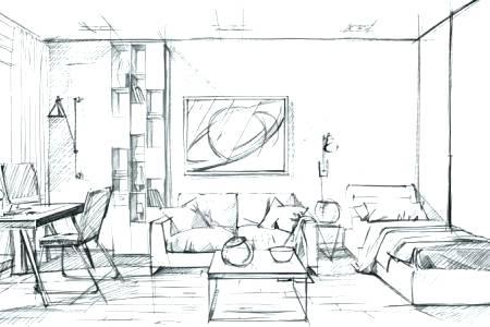 Interior Design Sketching Book Cover Interior Design Sketching Interior Design Drawing Tut In 2020 Interior Design Drawings Drawing Interior Interior Design Sketches
