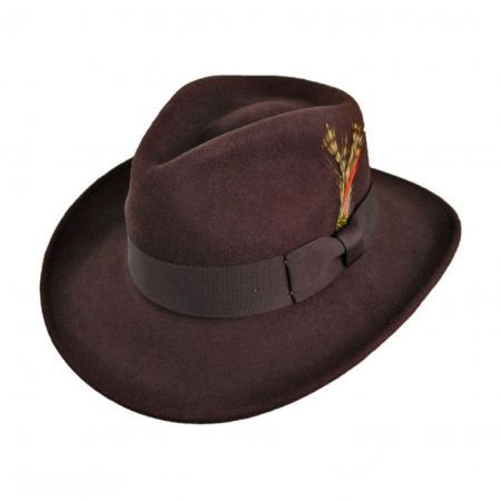 7bc65491bc066 Crushable Ford Fedora Hat available at  VillageHatShop This is my main  winter hat. So versatile and stylish!