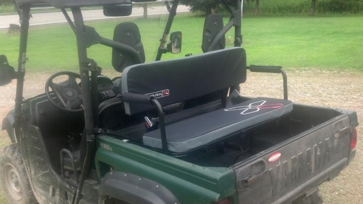 Yutrax Utv Jump Seat Items Of Interest Yamaha Outdoor