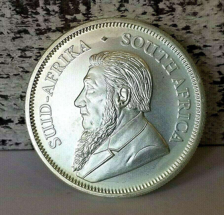 2018 South Africa 1 Oz Silver Krugerrand Bu Sku 170332 Sunshineminting Silver Krugerrand Gold Krugerrand Gold Bullion Coins