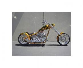 Radical Rigid Chopper Titan Motorcycle Co Ridning