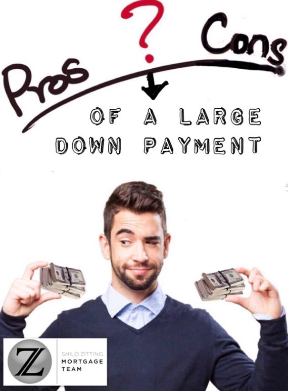 What are the pros and cons of a large down payment? Find ...
