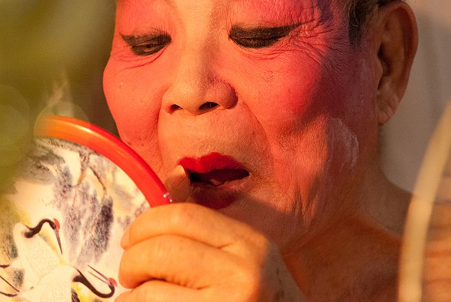 """""""Teochew Opera"""" - Featured in a photo essay and Story of the Week by Sharine Lim"""