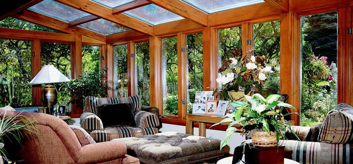 Four seasons sunrooms of northwest indiana screen for Four season porches pictures