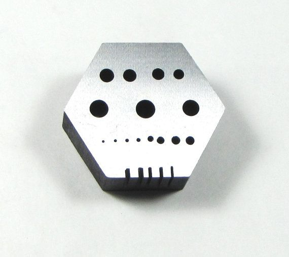 Solid Steel Hexagonal Riveting Block 2 1 8 X 2 1 8 Rivet Making Tool Riveting Making Tools Tools