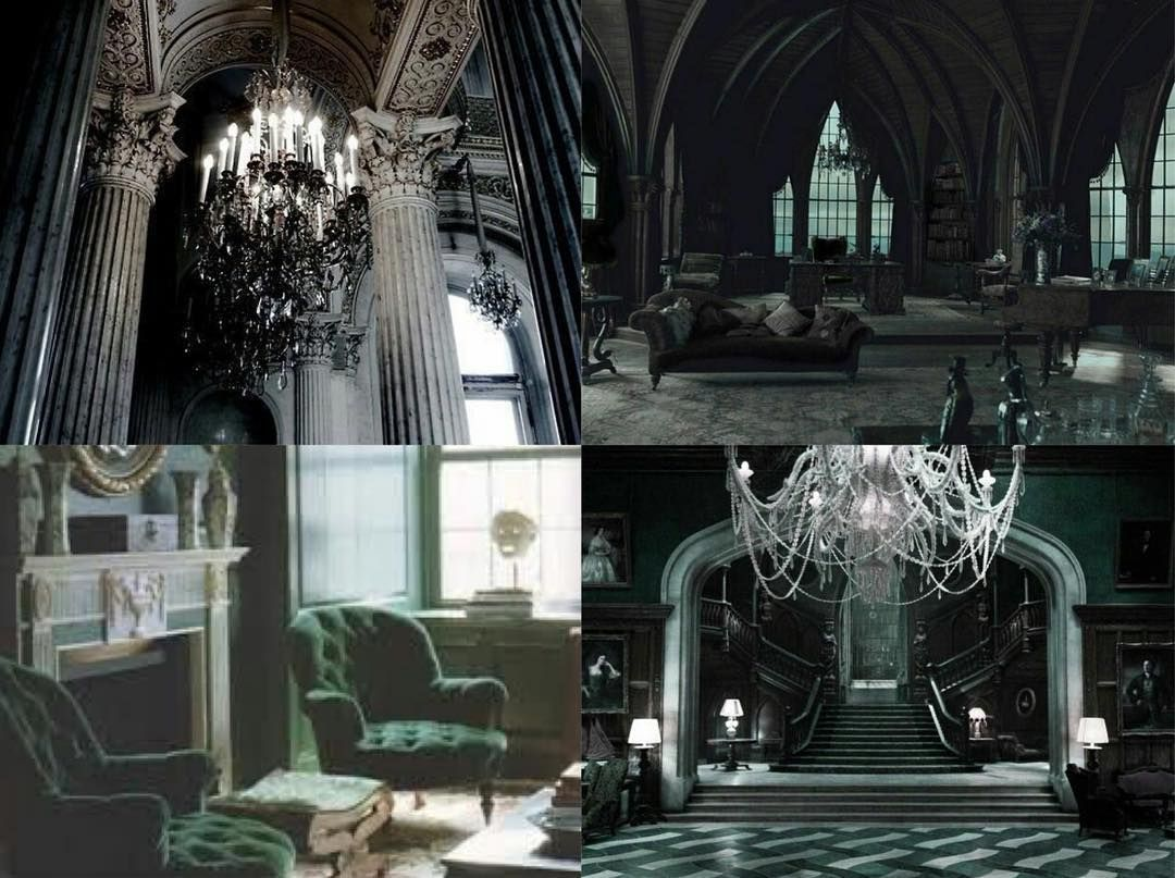 Slytherin Aesthetics On Instagram Slytherin Common Room