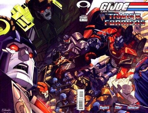 G.I. Joe vs. The Transformers #4 (IDW)