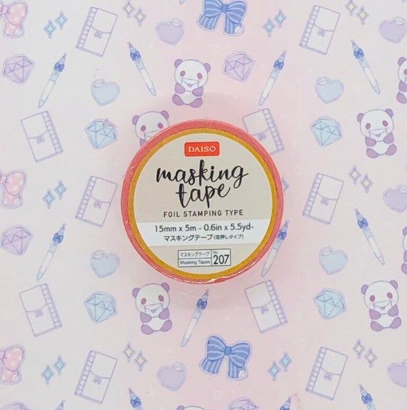 Washi tape, Foil stamping type, Flamingo, pink15 mm x 5 mPlease follow my Instagram and get a 10% off coupon code😊@tokyostickerstoreShop blog: tokyostickerstore.wordpress.comFeel free to ask any questions about the product. Thank you♡