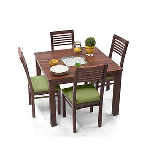 Buy 4 Seater Wooden Dining Sets Online In India 4 Seater Dining
