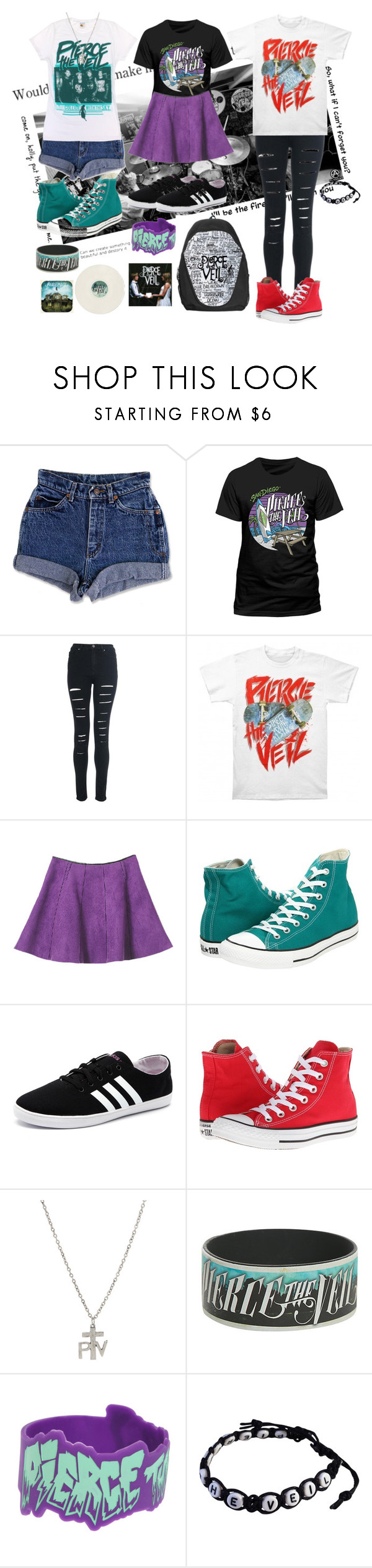 """""""Untitled #53"""" by elmoknowswhereyoulive ❤ liked on Polyvore featuring ADAM, Converse and adidas NEO"""