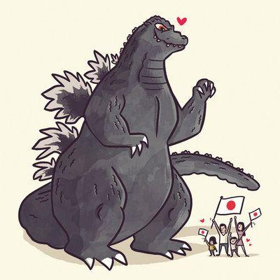 Godzilla 1989 by ~TheBeastIsBack on deviantART