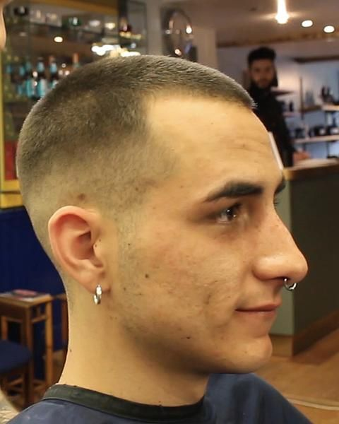 Buzz Cut Hairstyle Number 3 On Top With Skin Fade Video Buzz Cut