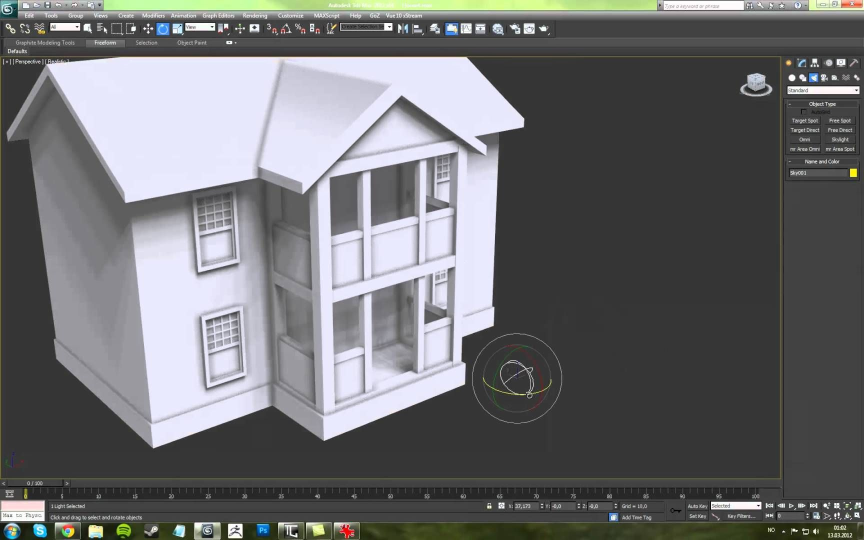House Modeling In 3ds Max
