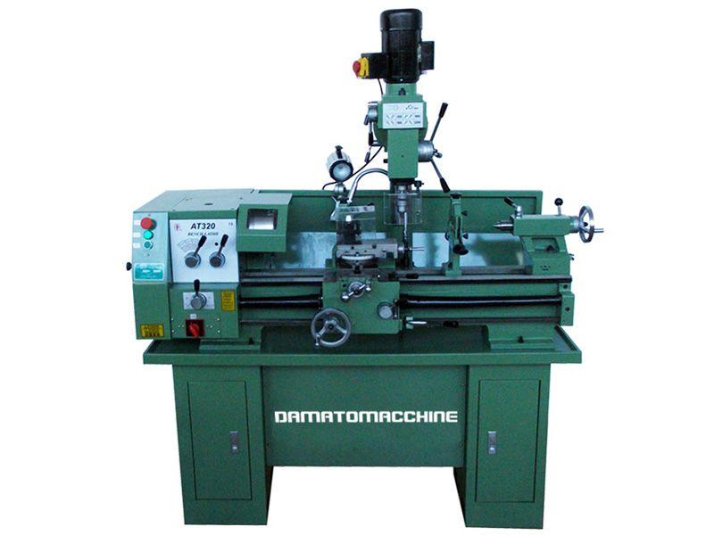 Combinato con distanza tra le punte di 800 mm pompa di for Tornio damatomacchine