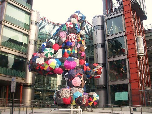 Channel 4 building on Horseferry Road, London