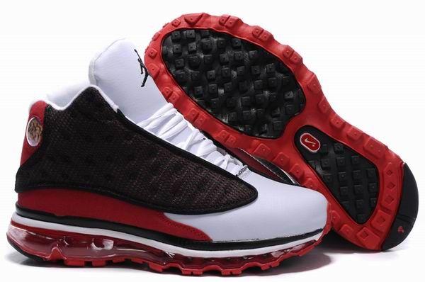 Boutique officiel Air Jordan 12/13 Pour Homme Noir/Rouge/Blanc en ligne soldes