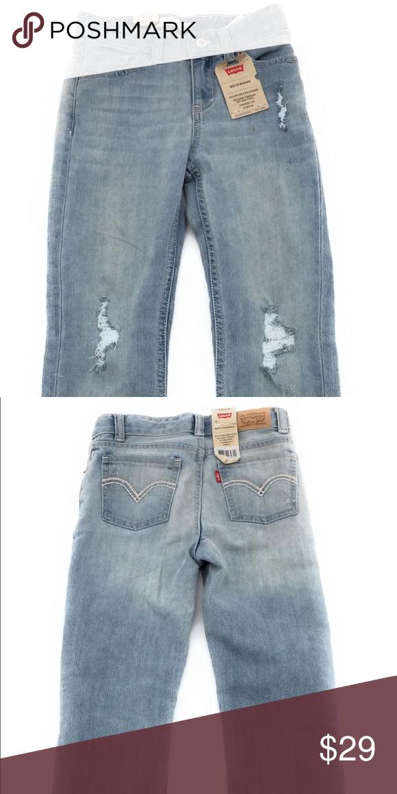 b6d26a690bd Levi's Boyfriend Jeans 6 Regular Girls Brand new with tags Boyfriend Jeans.  6X regular. Levi's Bottoms Jeans