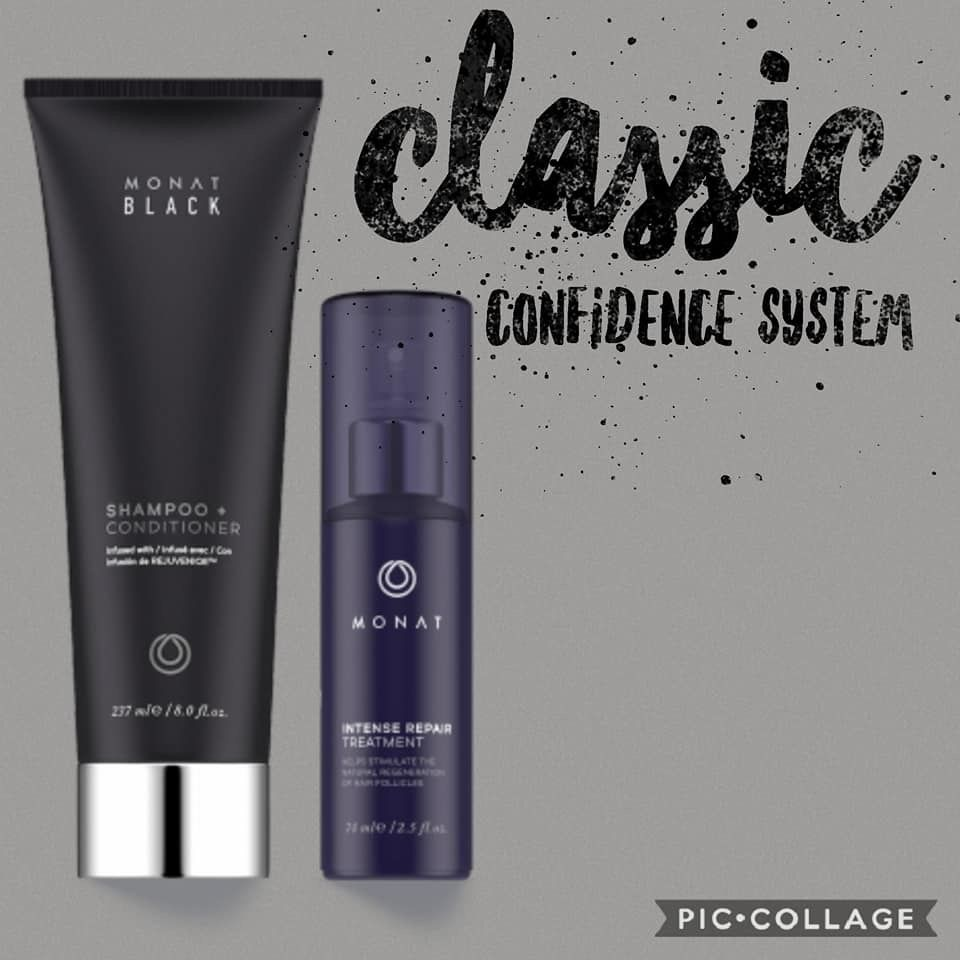 Monat Classic Confidence System Monat Shampoo And Conditioner