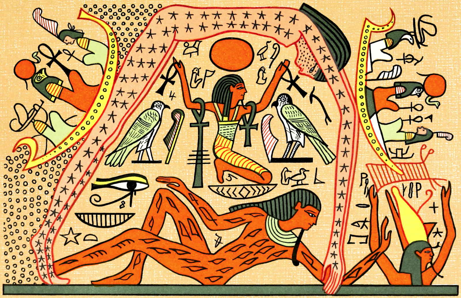 A fuller account of the Creation Story in Egyptian | The Creation ...