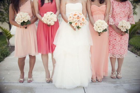 Lovely Rehearsal Dinner Dresses In Shades Of White Ivory: {Real Wedding} Coral Anthropologie-Inspired Wedding In
